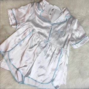 Gillian & O'Malley Bride Silky Pajama Set